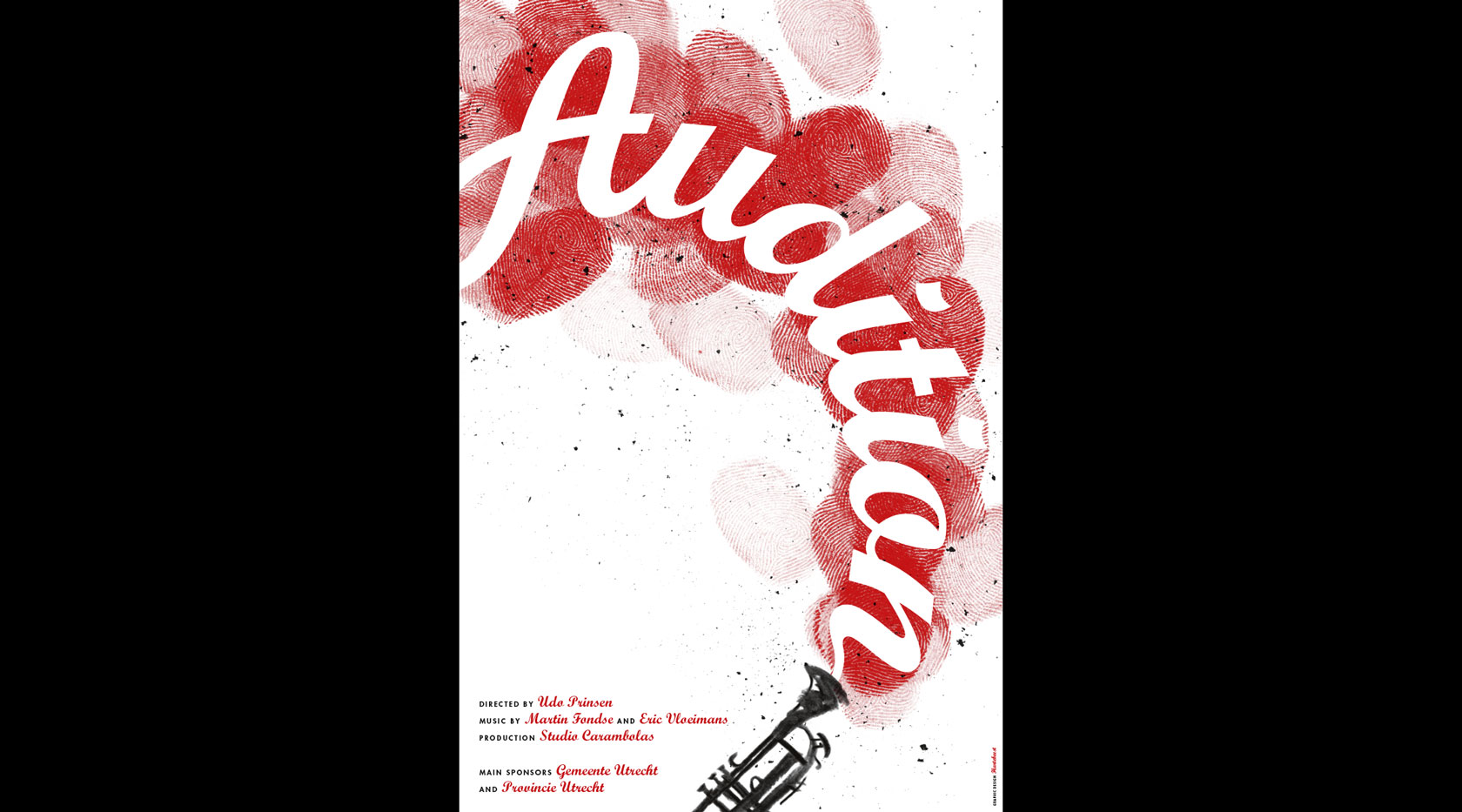 Filmposter Audition, by Hartebeest